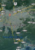 satellite map of sao paulo