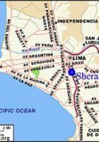 map of lima peru