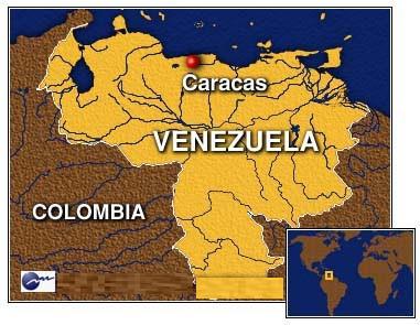 CaracasonVenezuelaMap Map Pictures