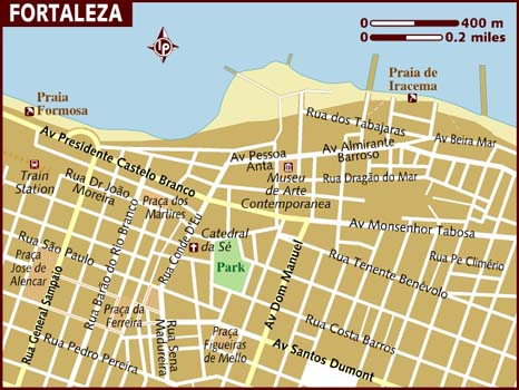 map_of_fortaleza