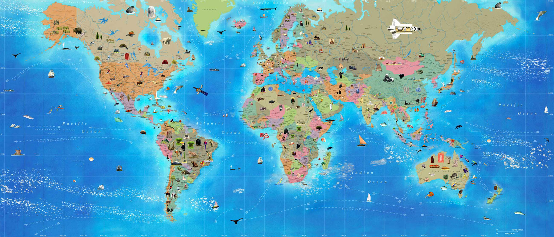 Interactive world maps world maps map pictures gumiabroncs Images
