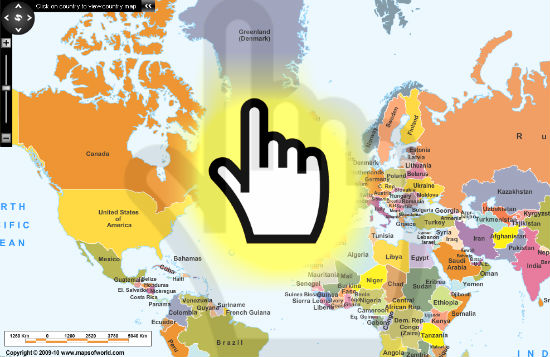 Interactive World Maps World Maps Map Pictures - Interactive map of world