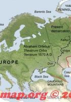 continental divide between europe and asia