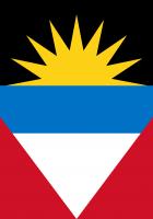 Antigua and Barbuda flags
