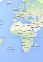 google world maps with countries