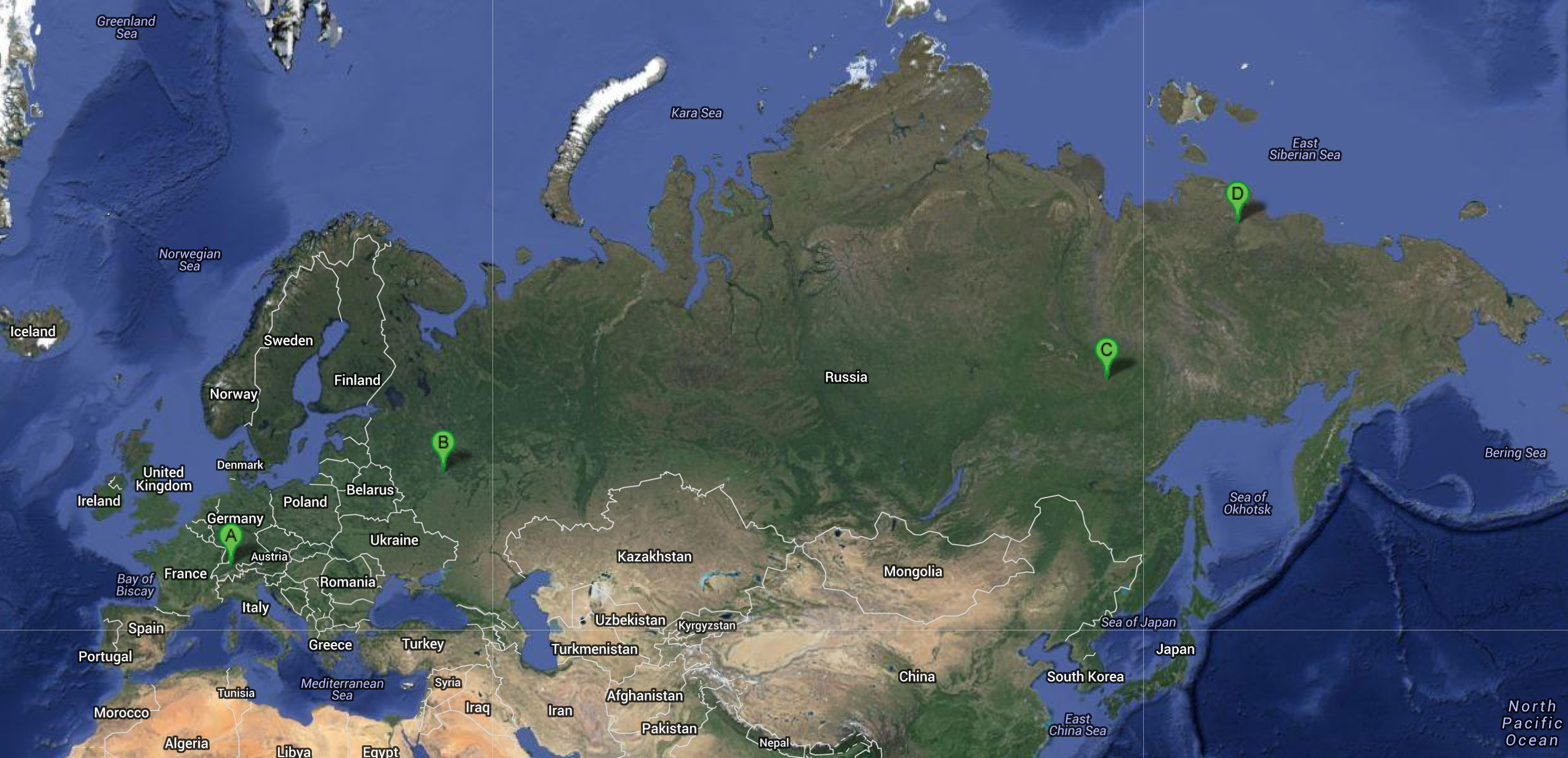 Norilsk Russia Google Maps Picture Ideas References