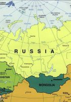 russia and the republics political map