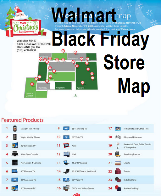 Walmart Black Friday Store Map Walmart Black Friday Store Map.png   Map Pictures