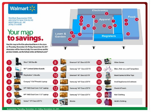 Walmart Store Map.   Map Pictures