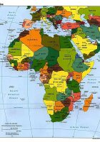map of african