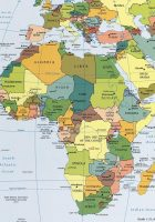 africa large map