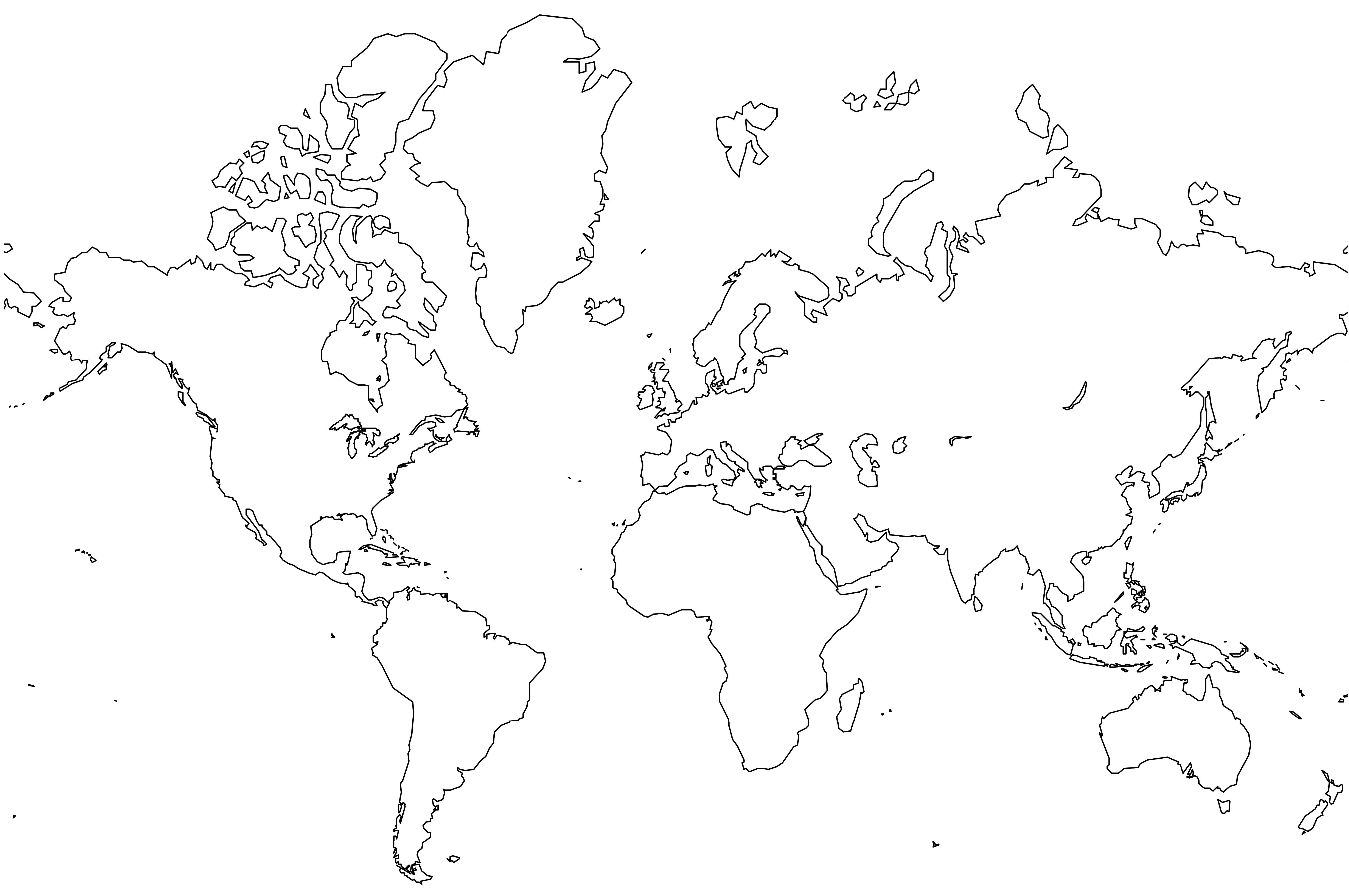 Bigworldmapjpg Map Pictures - World map blank printable