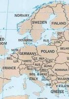 countries the continent of europe