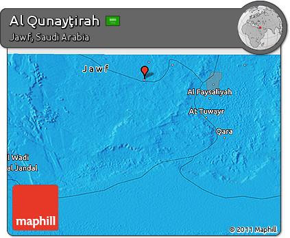 fancy-political-3d-map-of-al-qunaytirah