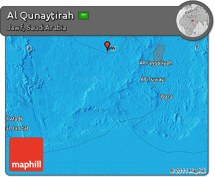 fancy-political-map-of-al-qunaytirah