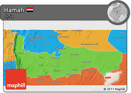 free-fancy-political-3d-map-of-hamah