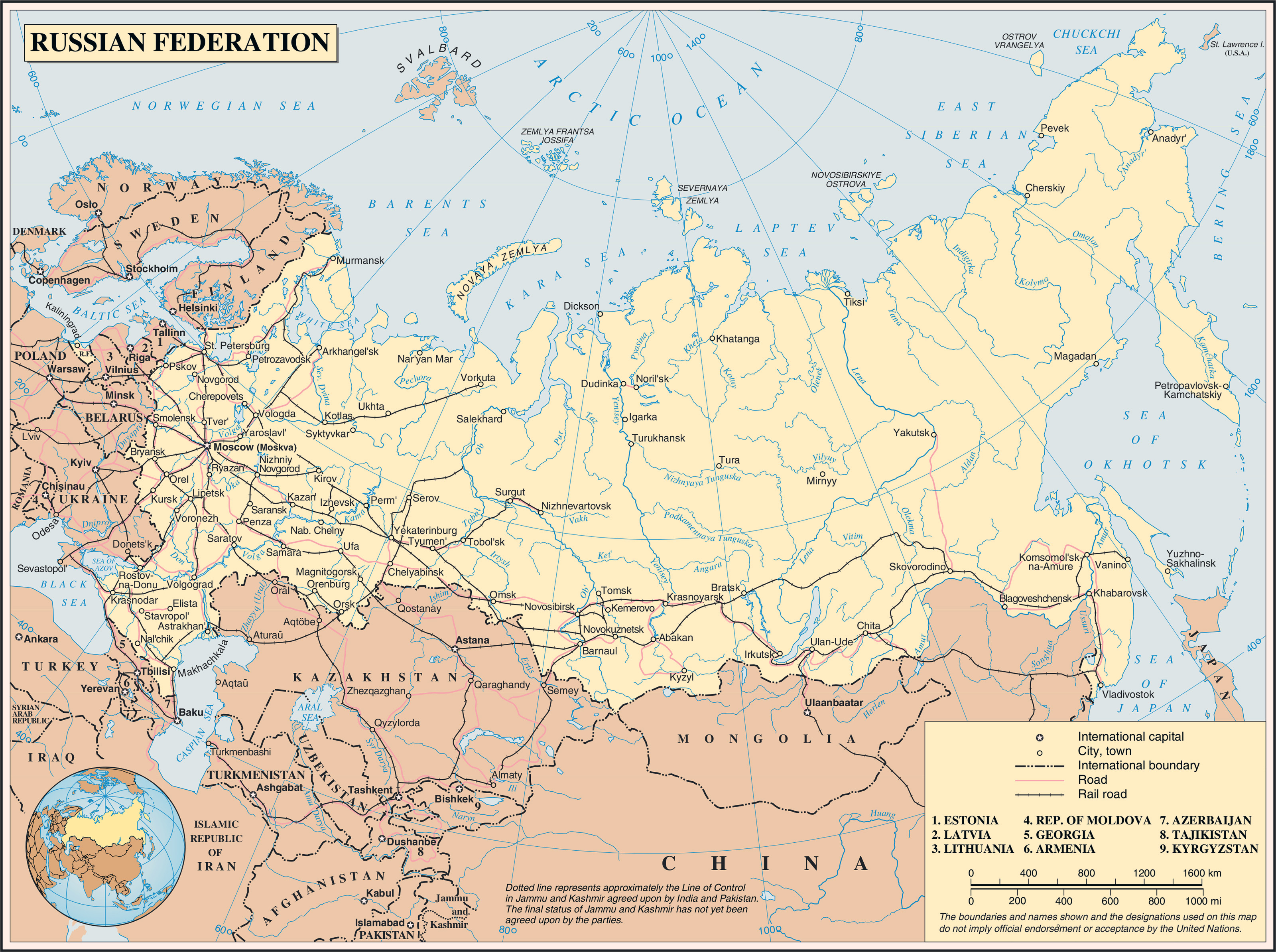 ... Asia Maps – image, russia map images, russia map – Asia Maps