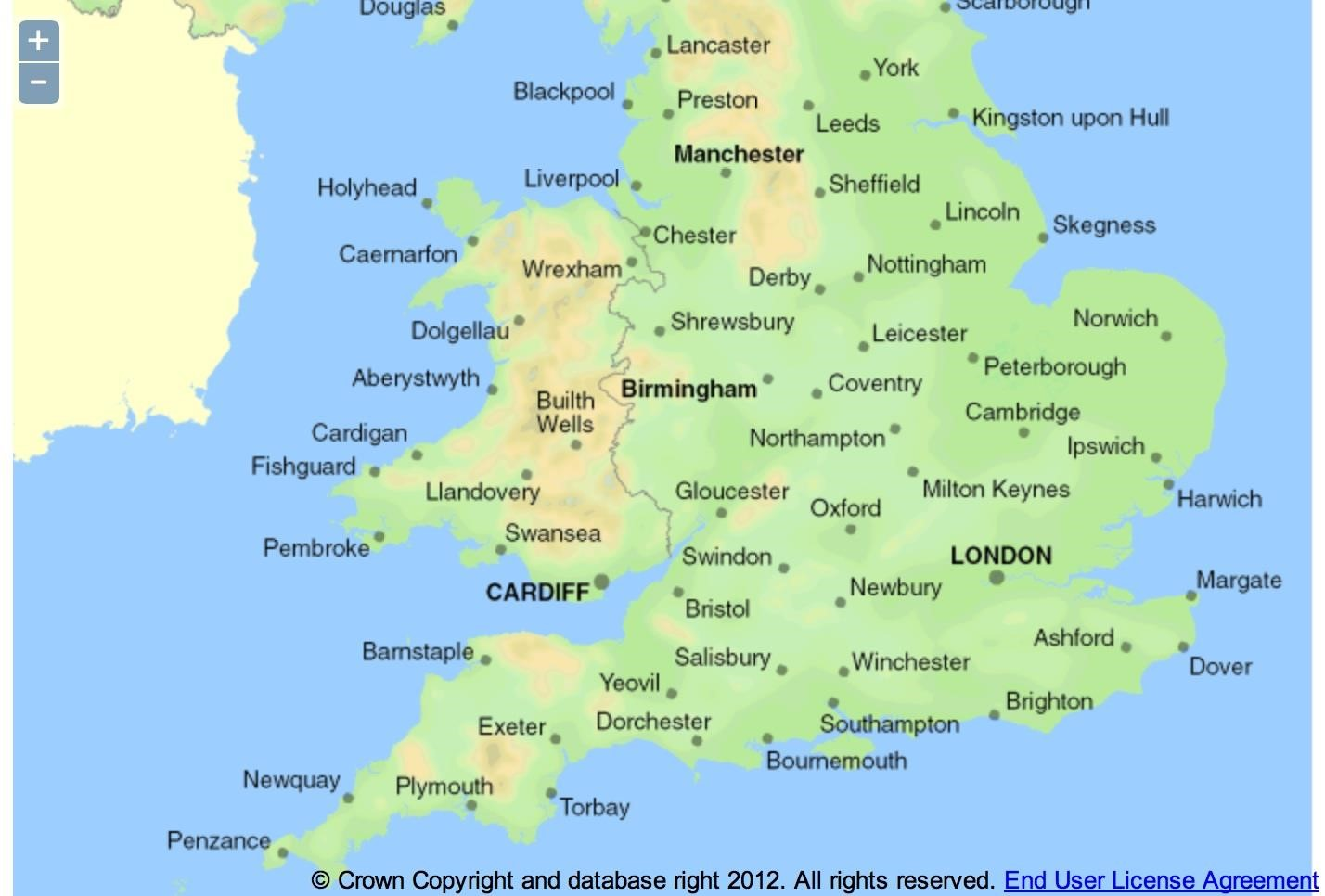 England Map Cities Europe Maps Map Pictures