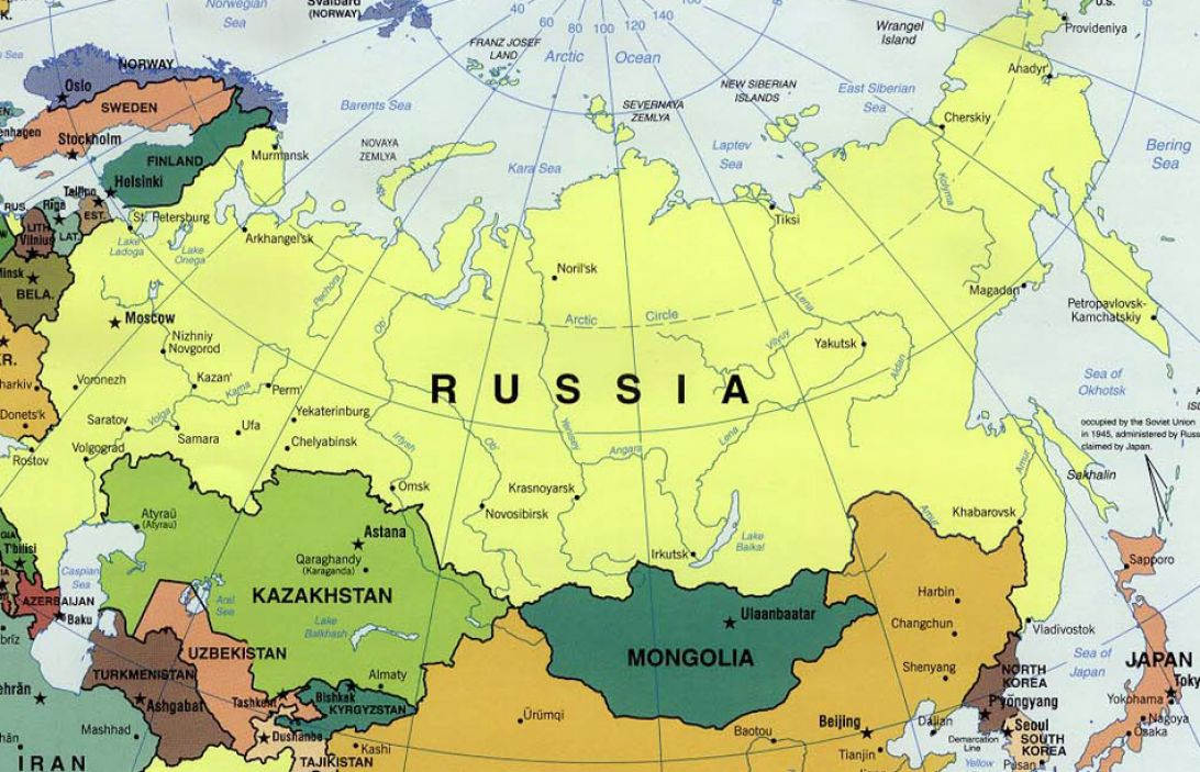 Image of: Physical Map Of Russia And Eurasia 4 Jpg Map Pictures