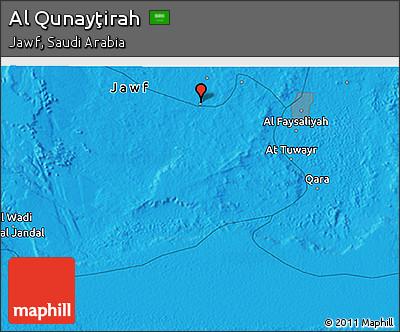 political-3d-map-of-al-qunaytirah