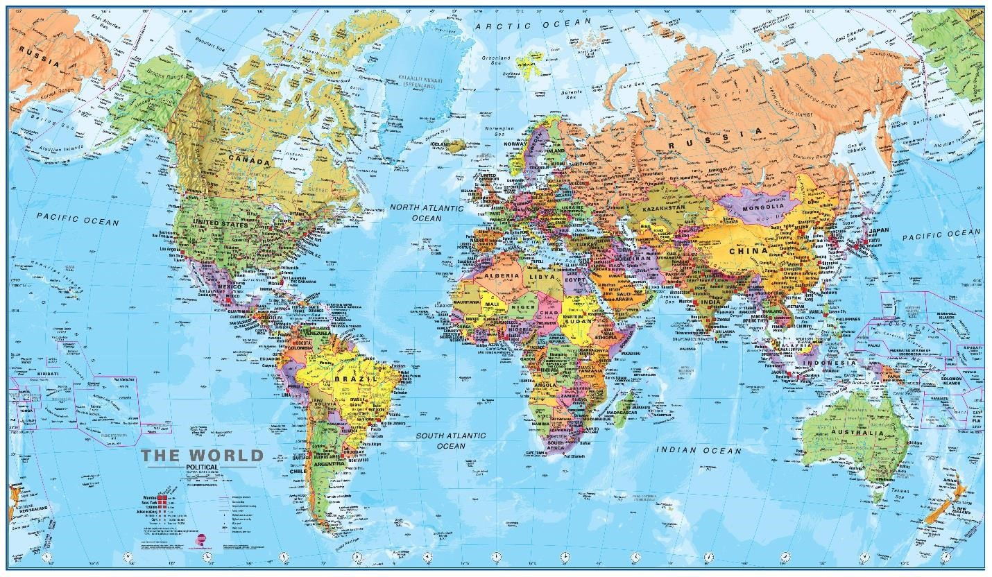 20 free and premium vector world maps designmodo giant a0 world map politicalworldmapposterjpg map pictures a2 world map gumiabroncs Choice Image