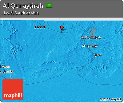 rounded-political-3d-map-of-al-qunaytirah