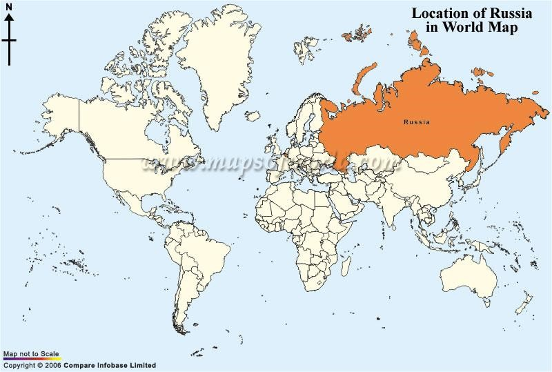 Where Is Russia On The Map My Blog - Russian federation map