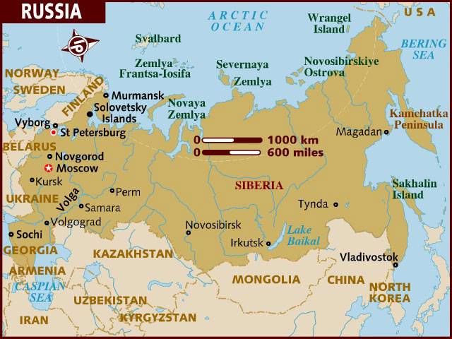 Russia Map - Sweden russia map