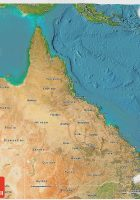 Australia Maps Map of Australia and Satellite Image wpmaporg