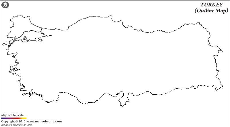 turkey-outline-map