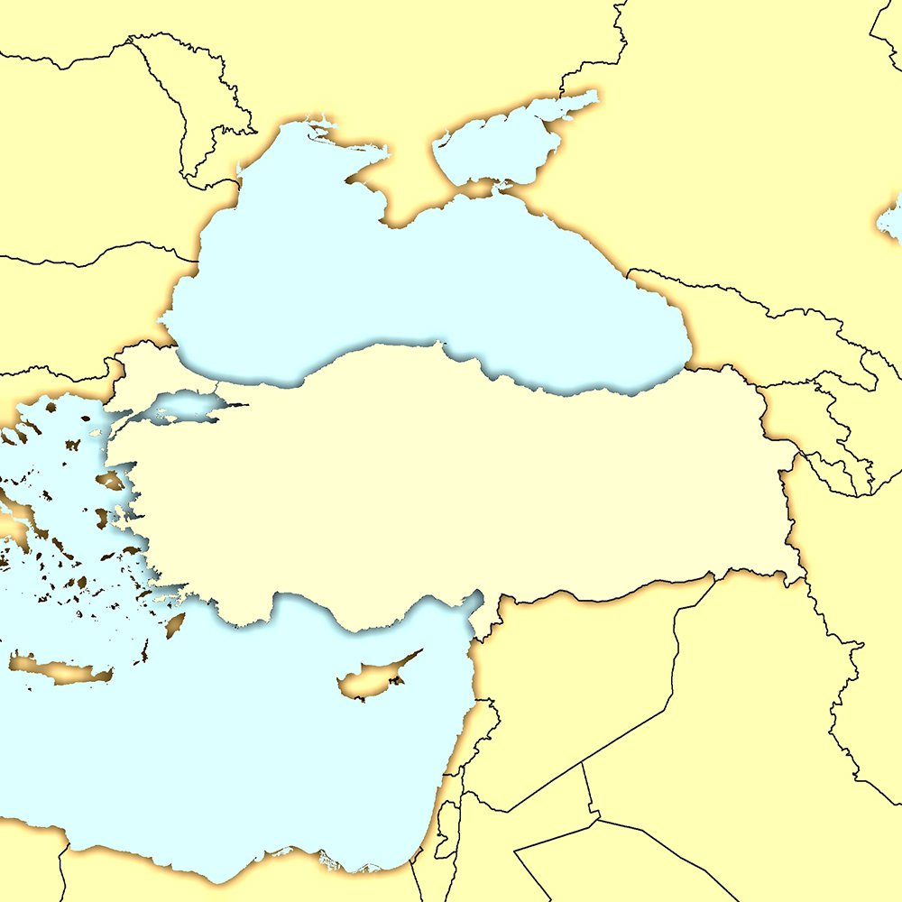 turkeyoutlinemap