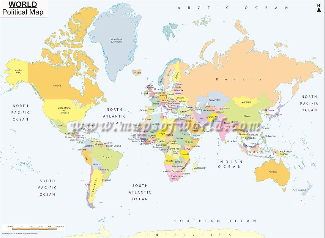 Worldmapajpg Map Pictures - A3 printable world map