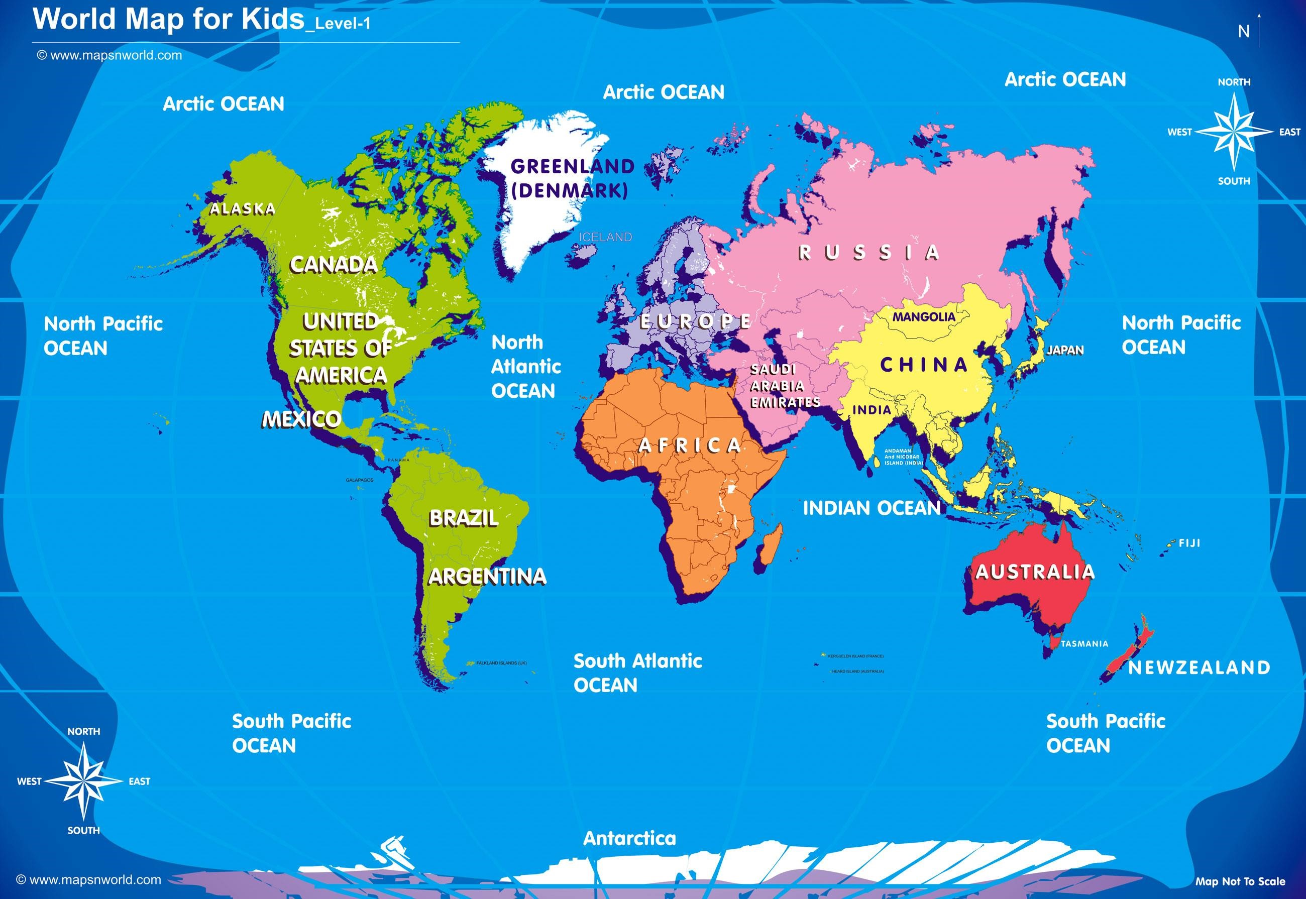 World map for kids big size w r ibackgroundzcomg map pictures world map for kids big size w r ibackgroundzcomg sciox Images