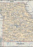 Map Of Missouri Cities Map Of Missouri Cities And Towns - Map of missouri with cities