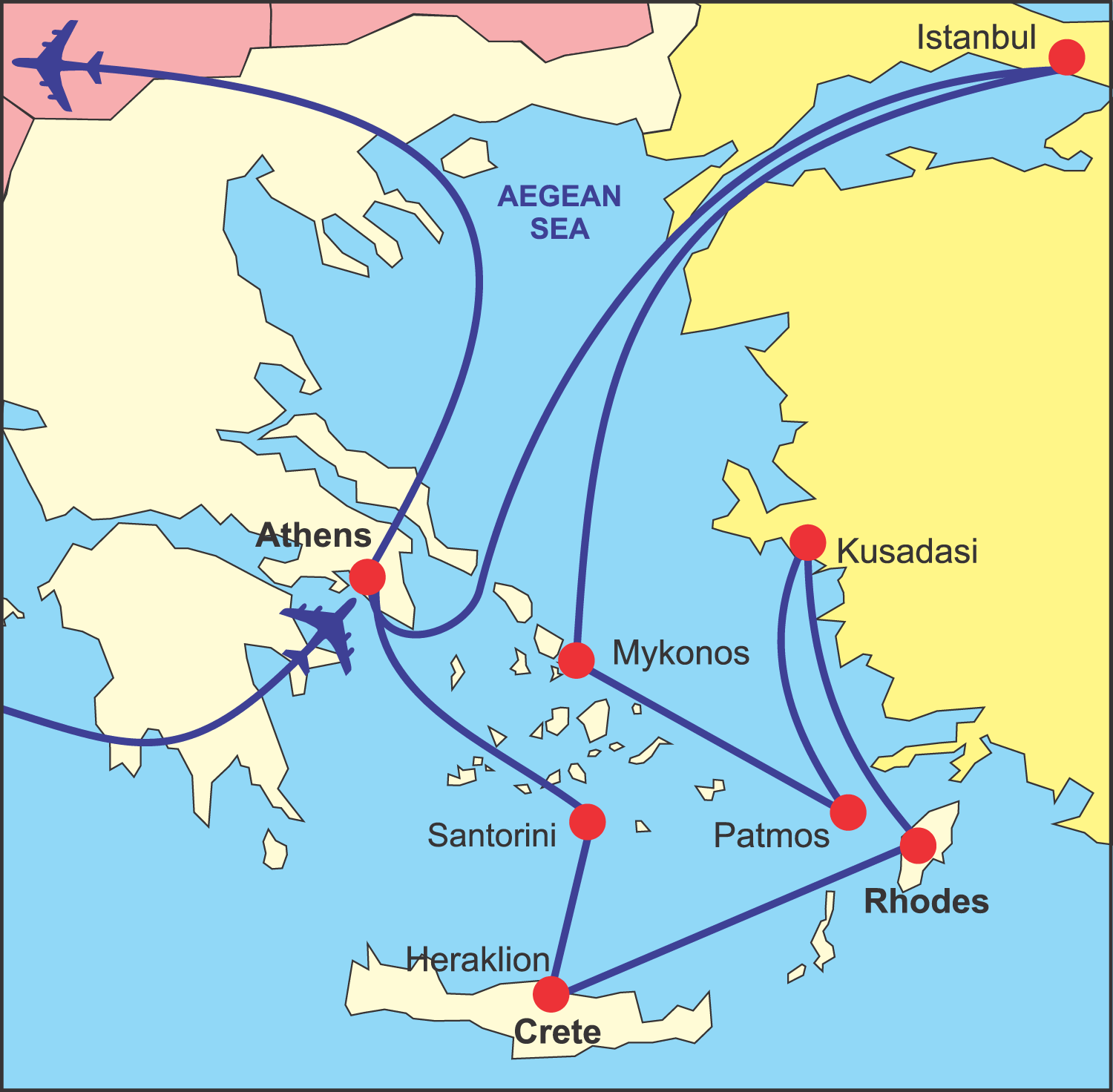Map Of Italy Greece And Turkey.Map Of Greece And Turkey Map Pictures