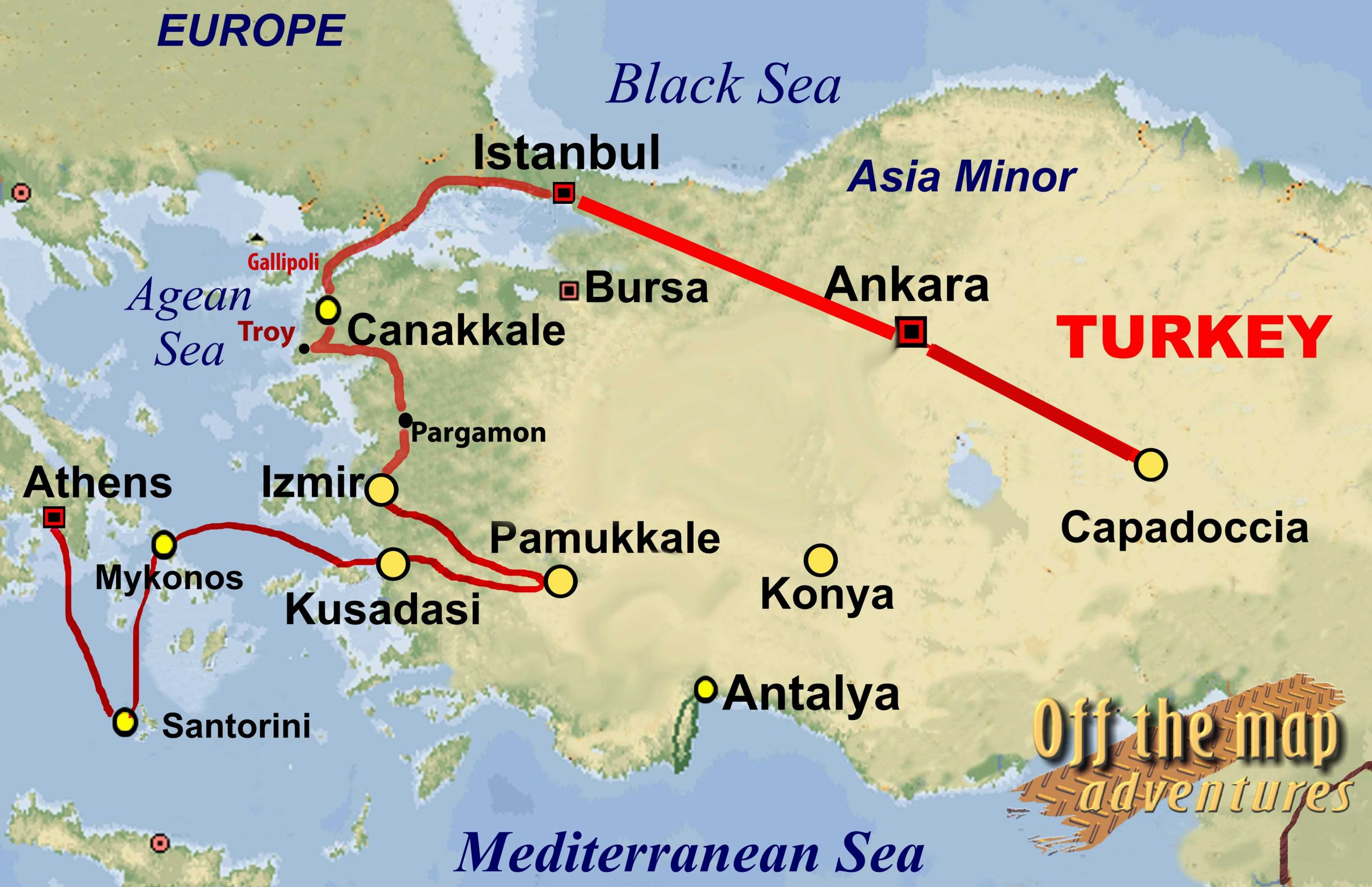 Image of: Map Of Turkey And Greece Map Of Europe Turkey And Greece Map