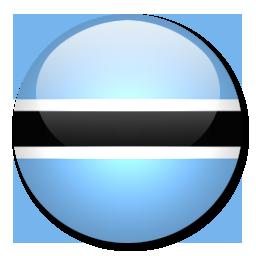 Angola Flag Circle