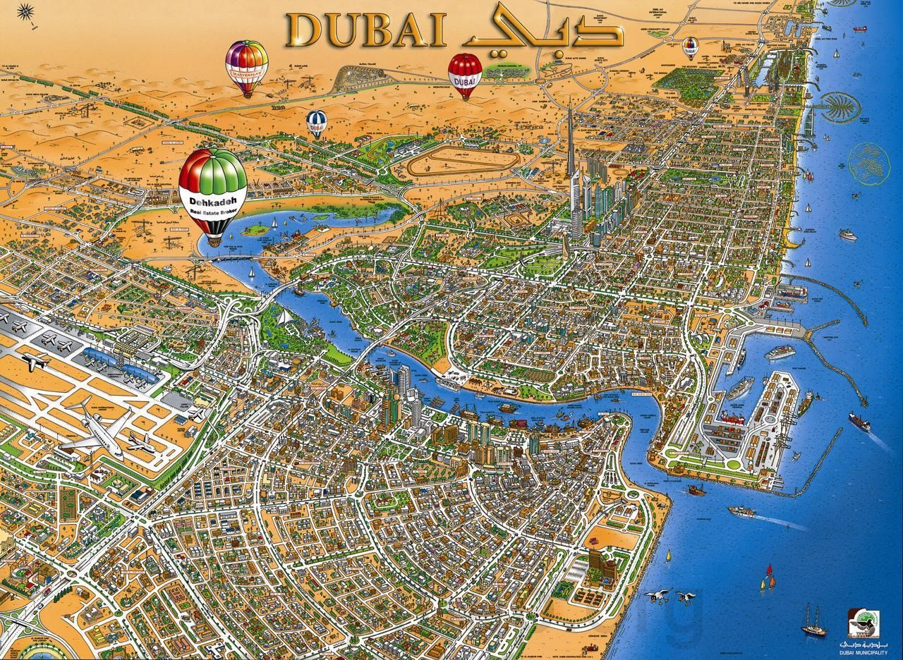 Dubai 3d map map pictures dubai 3d map gumiabroncs Image collections
