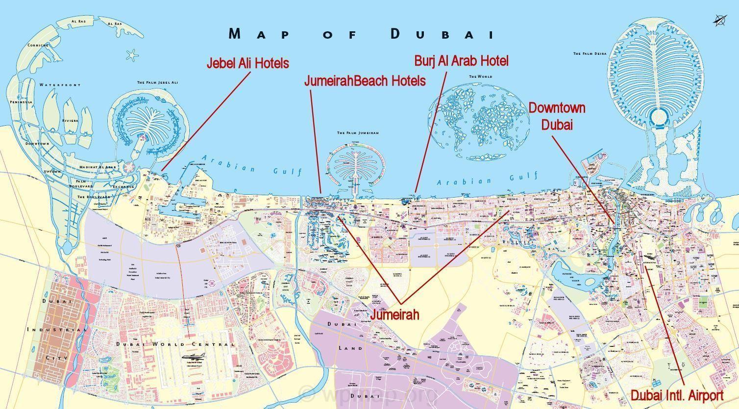 map of dubai - dubai map google earth - road map of dubai ...
