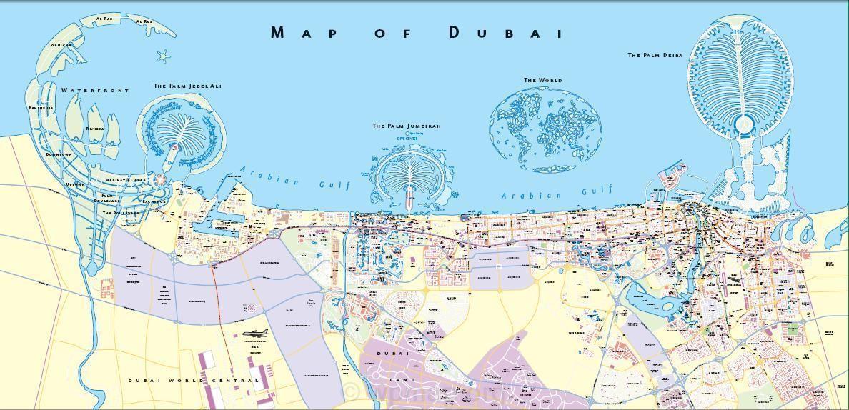 Maps Update 1280773 Dubai on Map of World Where is Dubai – Dubai Map of the World