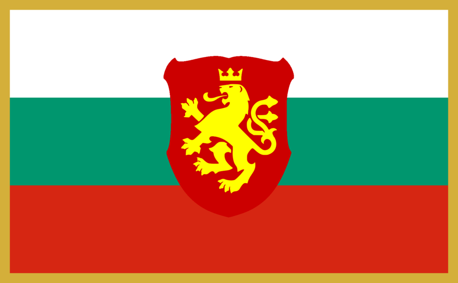 Flag Of Great Bulgaria Map Pictures