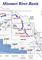 missouri river basin dams and elevations