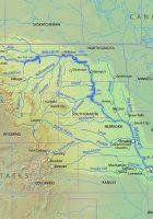 source of missouri river missouri basin map