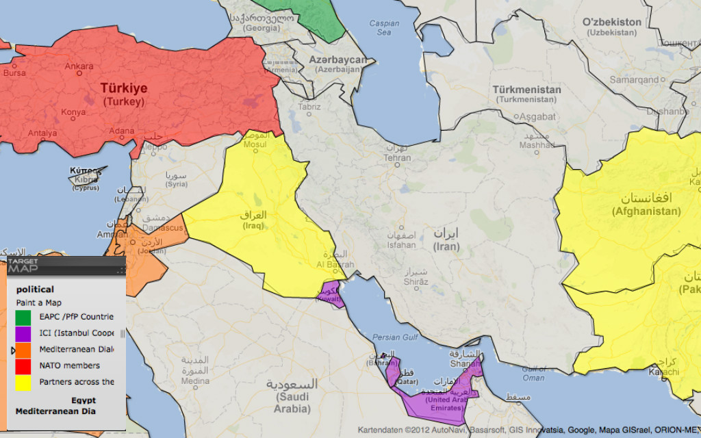 map of iran - Map Pictures