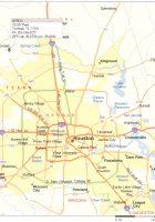 Houston Metropolitan Map