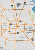 Houston overview map website