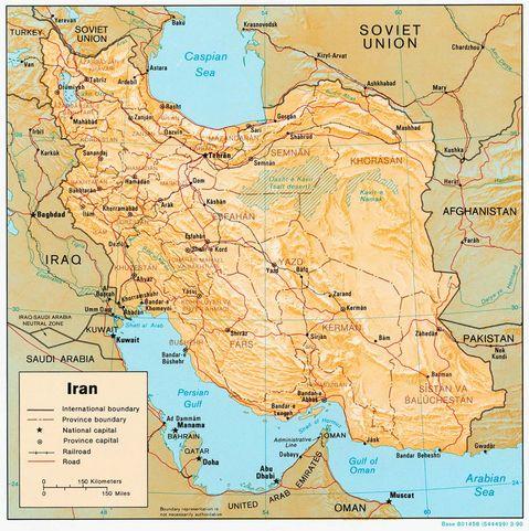 Iran-Physical-Map-1990