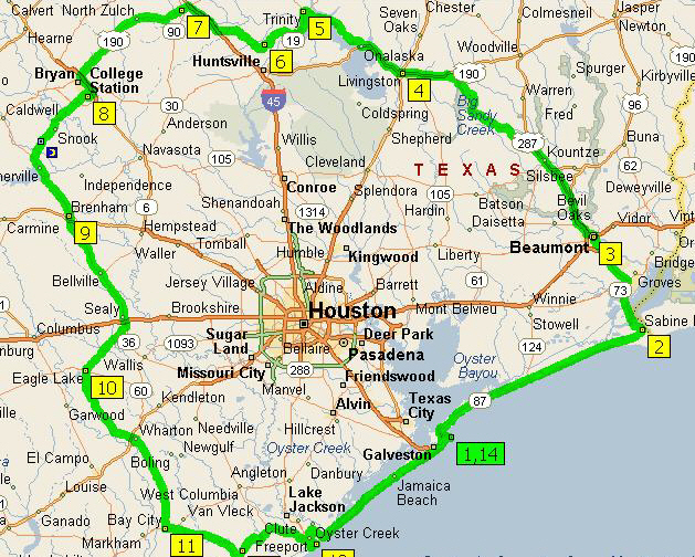 houston map Map Pictures