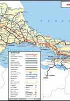 Road Map of istanbul