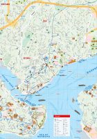 istanbul top tourist attractions map